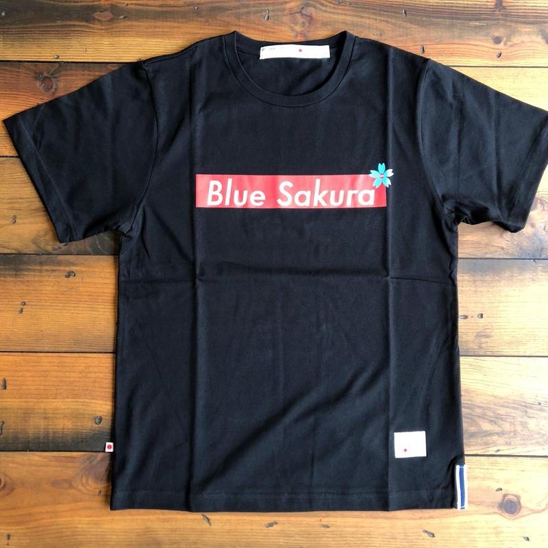 """BASIC T-SHIRT  """"BOX-LOGO""""【BLACK】/ BS-S3-CS1-03-BK"""