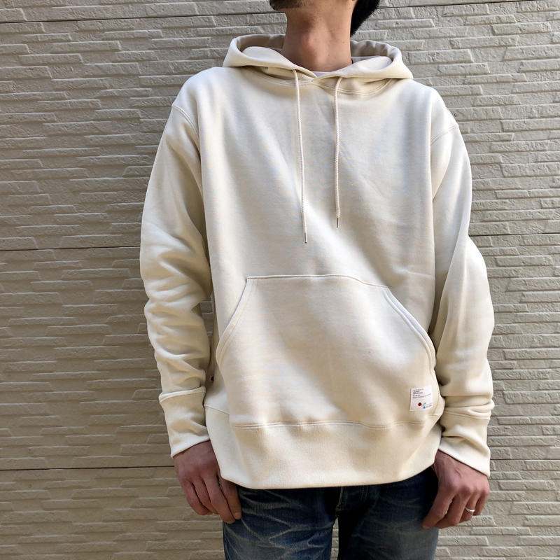 CLASSIC VINTAGE HOODIE 【WHITE】  / BS-SW02-WH