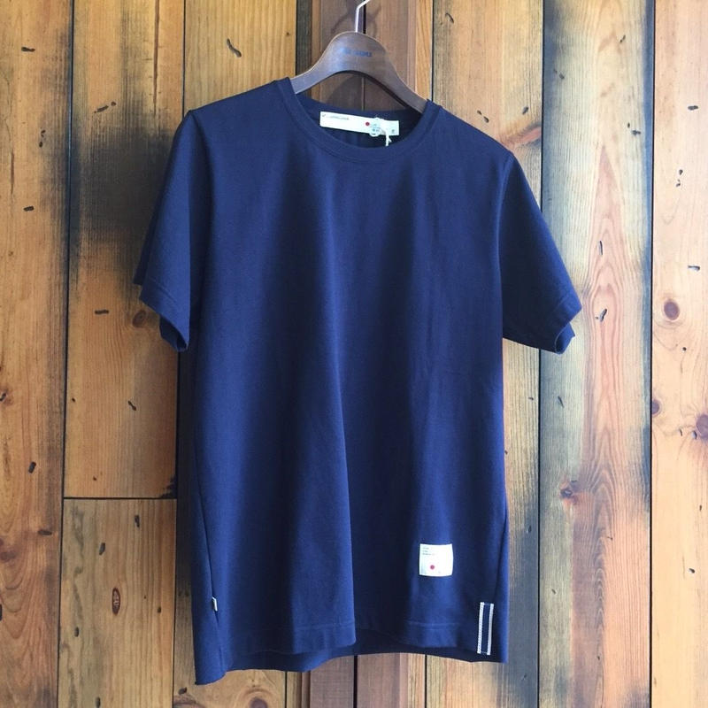 CUTOFF T-SHIRT【NAVY】/ BS-CS04