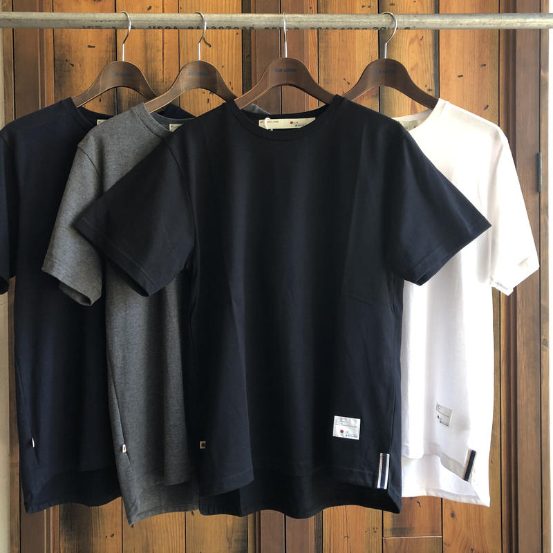 ROUND T-SHIRT【BLACK】/ BS-CS02-bk