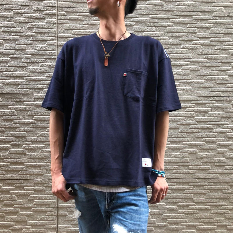 BIG  T-SHIRT【NAVY】/ BS-BCS1-NV