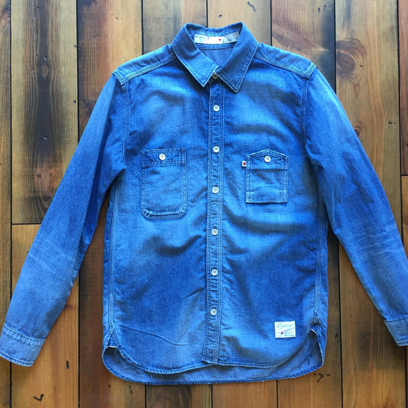 DUNGAREE SHIRT USED【L.IND】 / BS-SH05