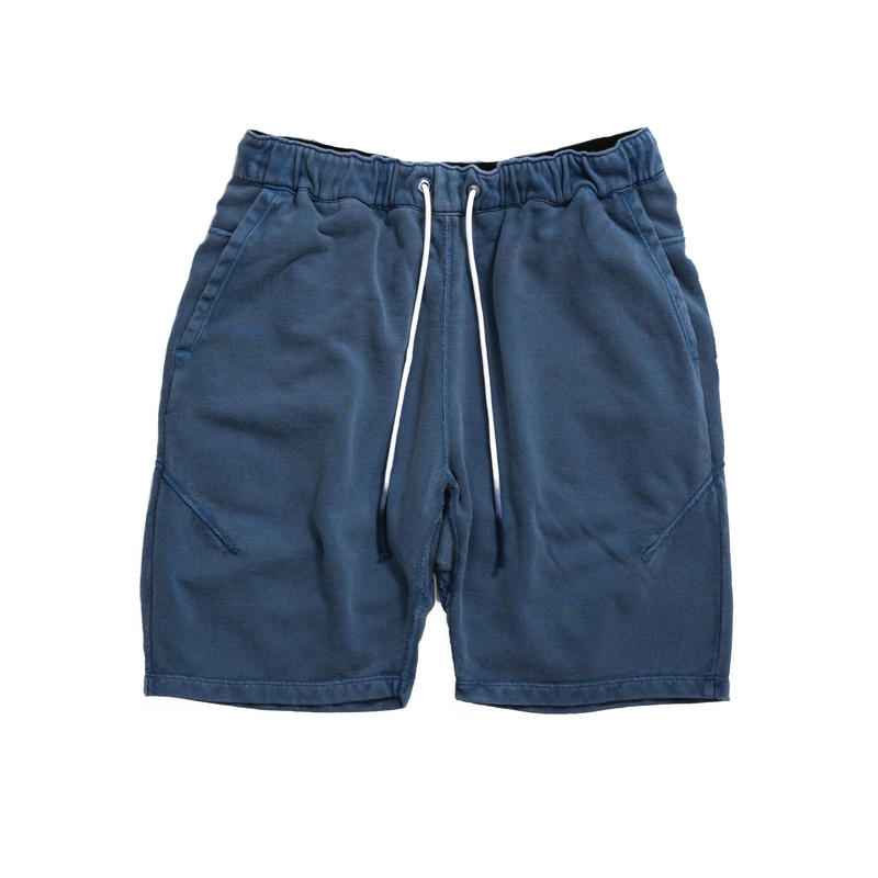 PIGMENT DIDE SWEAT SHORTS / BLUE / 13B19PA21FB