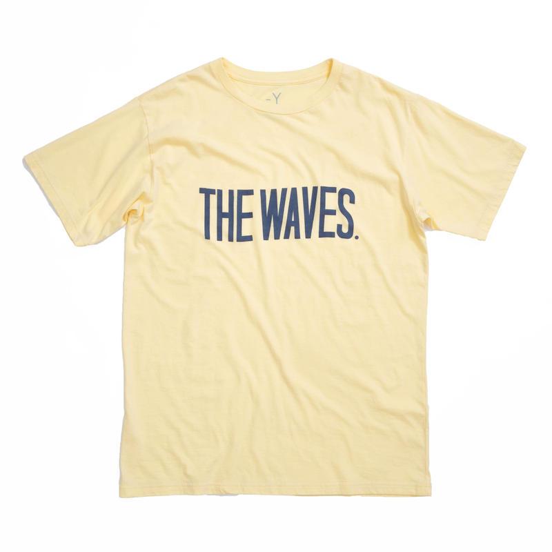 THE WAVES S/S TEE /  YELLOW / 13B19TS25FB