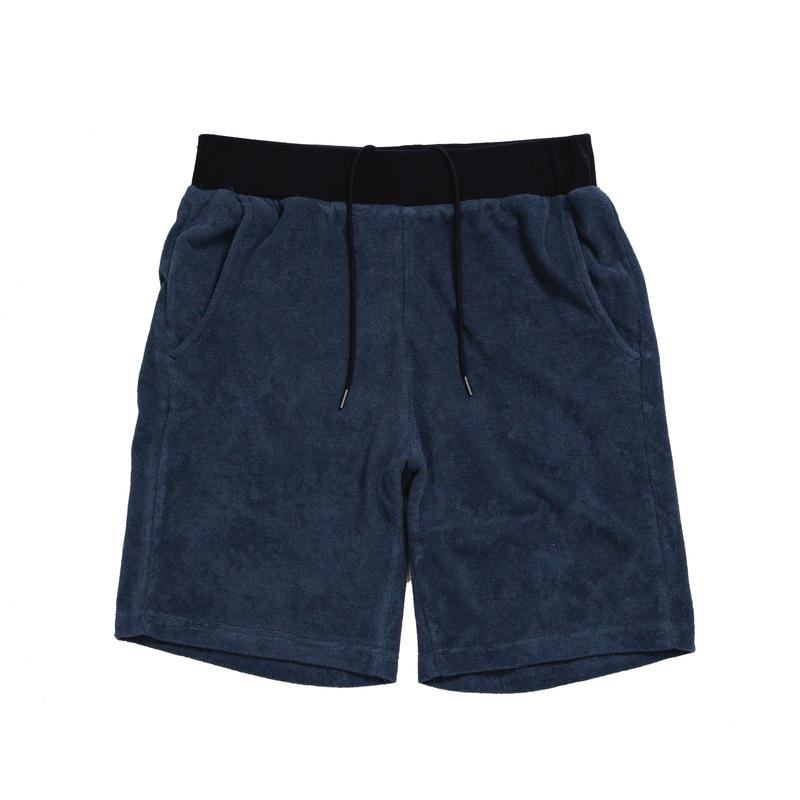 PILE SHORTS /  NAVY  / 13B19PA24FB