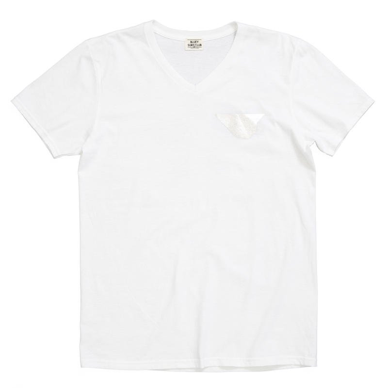 BLUEY SURFCLUB V-NECK S/S TEE /  OFF  / 13B19TS40FB