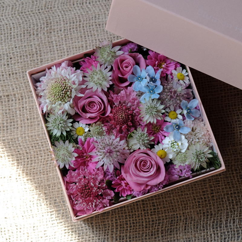 Flower Box  CORAL(コーラル)M size