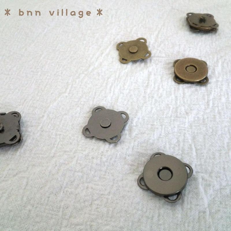 マグネットボタン(縫い付けタイプ)