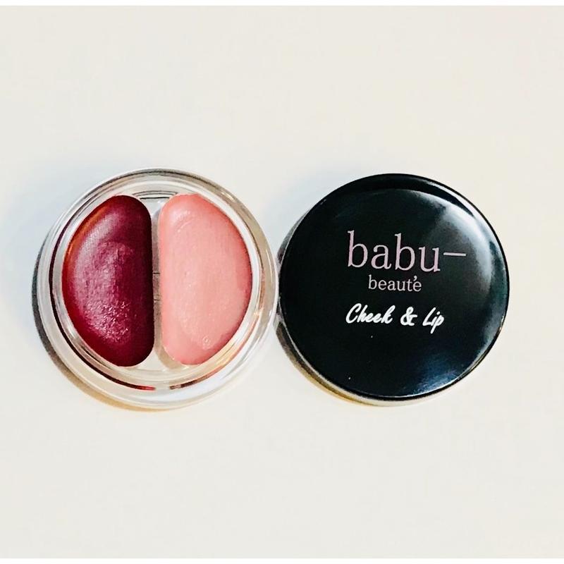 【 babu-】チーク&リップ
