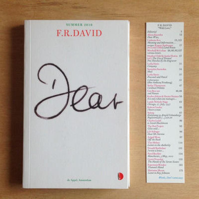 F.R David Summer 2013