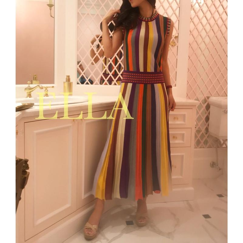 Multi color summer dress