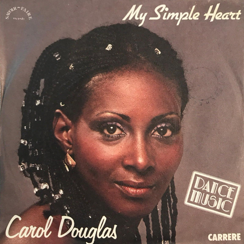 CAROL DOUGLAS:MY SIMPLE HEART