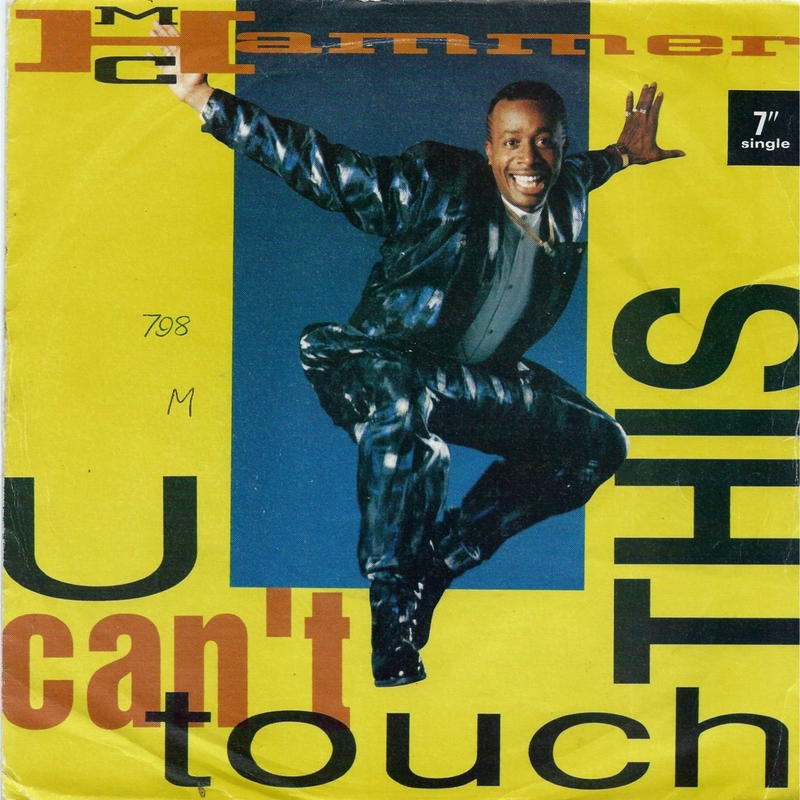 M.C. HAMMER:U CAN'T TOUCH THIS
