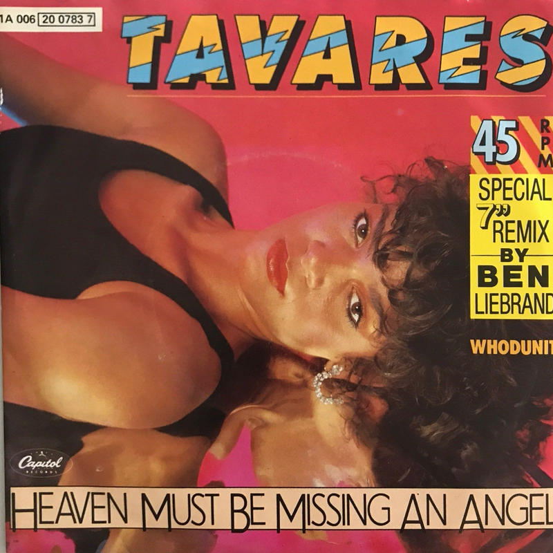 TAVARES:HEAVEN MUST BE MISSING AN ANGEL