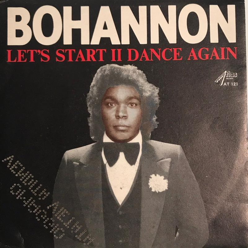 BOHANNON:LET'S START Ⅱ DANCE AGAIN/LET'S START THE DANCE
