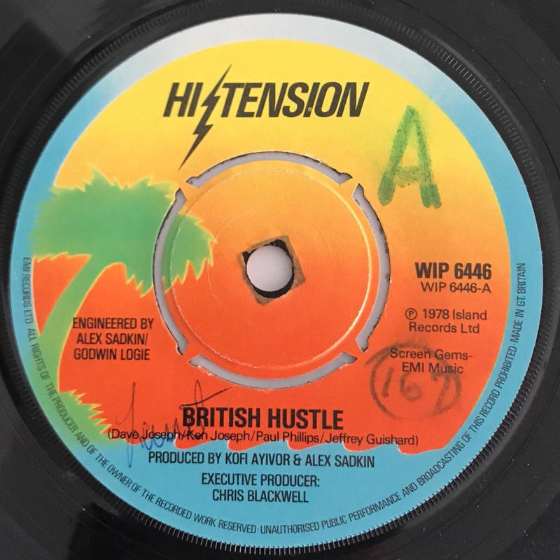 HI TENSION:BRITISH HUSTLE