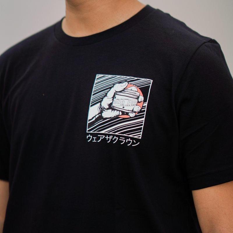 スピードライン Tシャツ