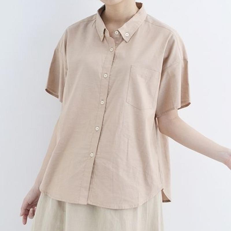 [1302tp]ボタンダウンコットンシャツ