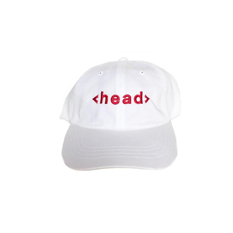TAG Cap  [ 赤白帽 ] / 83