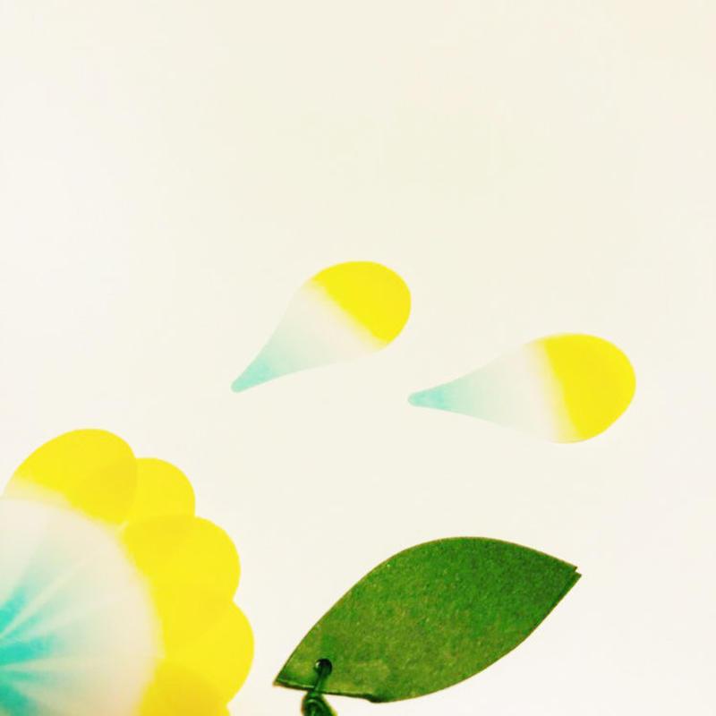 花占いのように使える花付箋