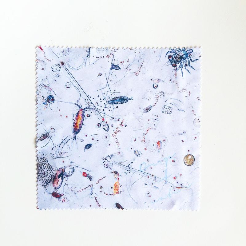 プランクトンクロス スマホクリーナー[Plankton  - Drop of water-  Eyeglass Cloth]/83