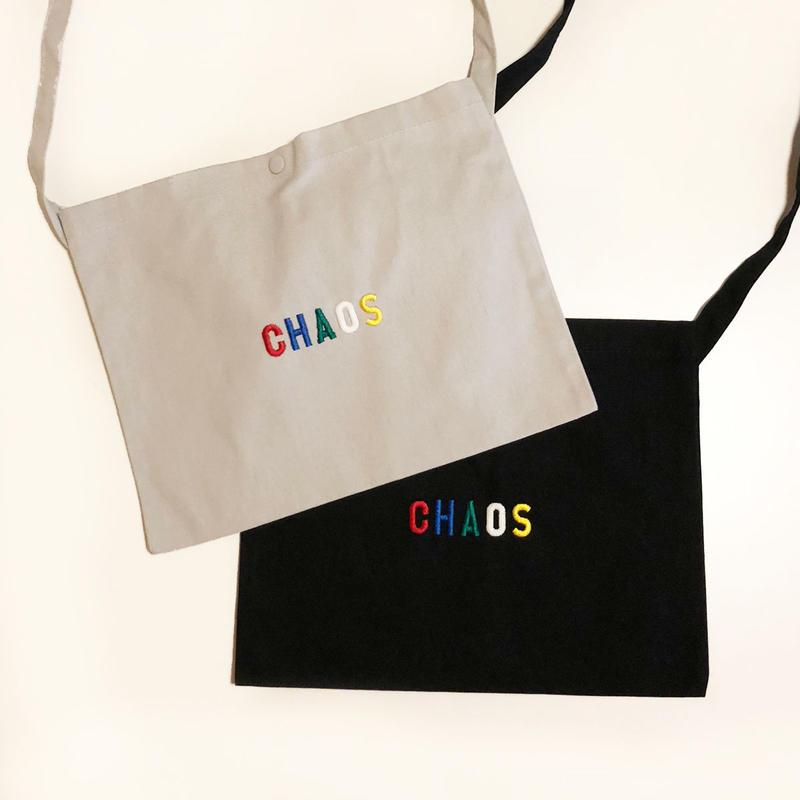 CHAOS 刺繍 Sacoche /83
