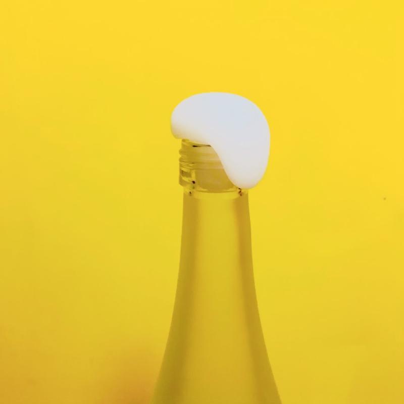 泡ボトルキャップ  Overflow bottle cap/ 大村 卓 Taku Omura