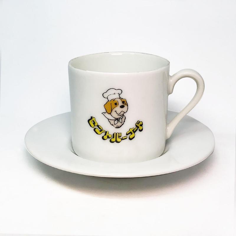 セントバーナード  Cup & Saucer  [個物] / 永井ミキジ