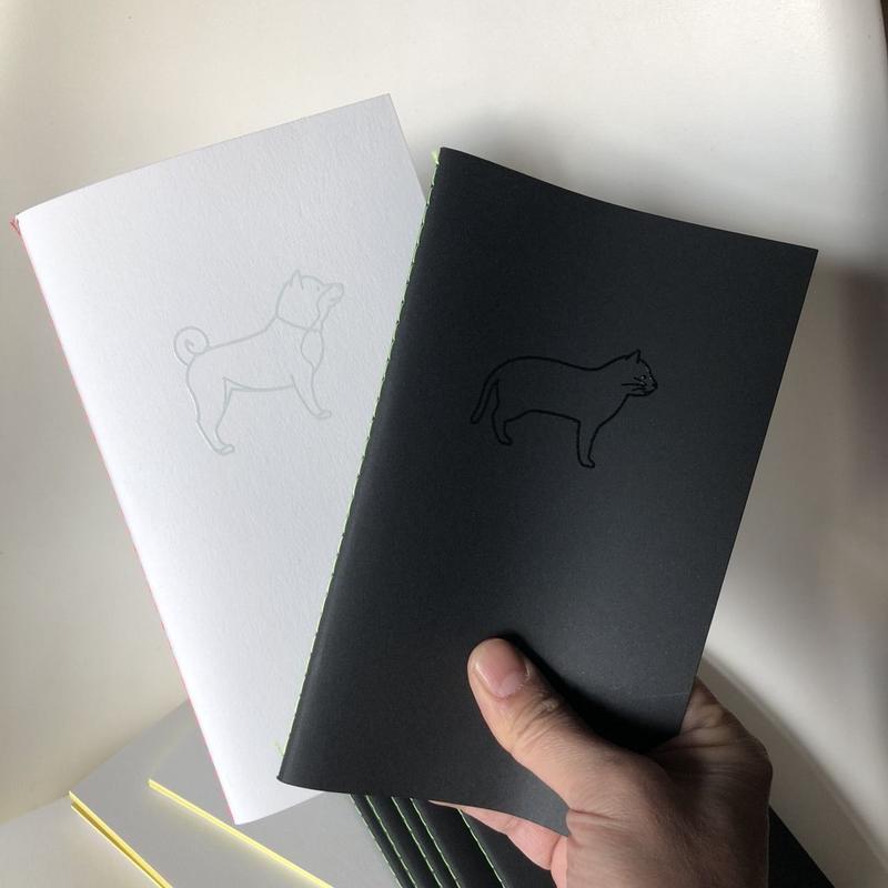 犬ノート 猫ノート  犬目モ猫目モ 2冊セット [DOG&CAT MEMO]/83