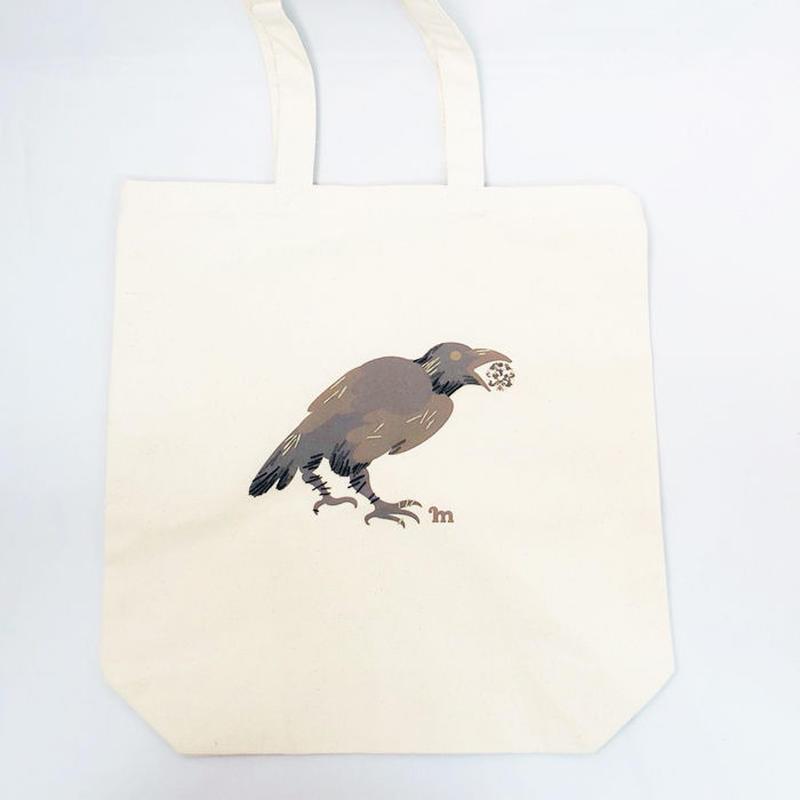 プリント刺繍 トートバッグ [宝石泥棒]/ 山口 マナビ