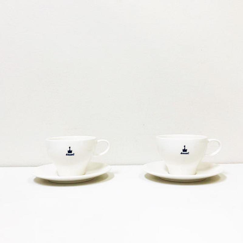 NIKKO × deuxC Cup & Saucer 2set