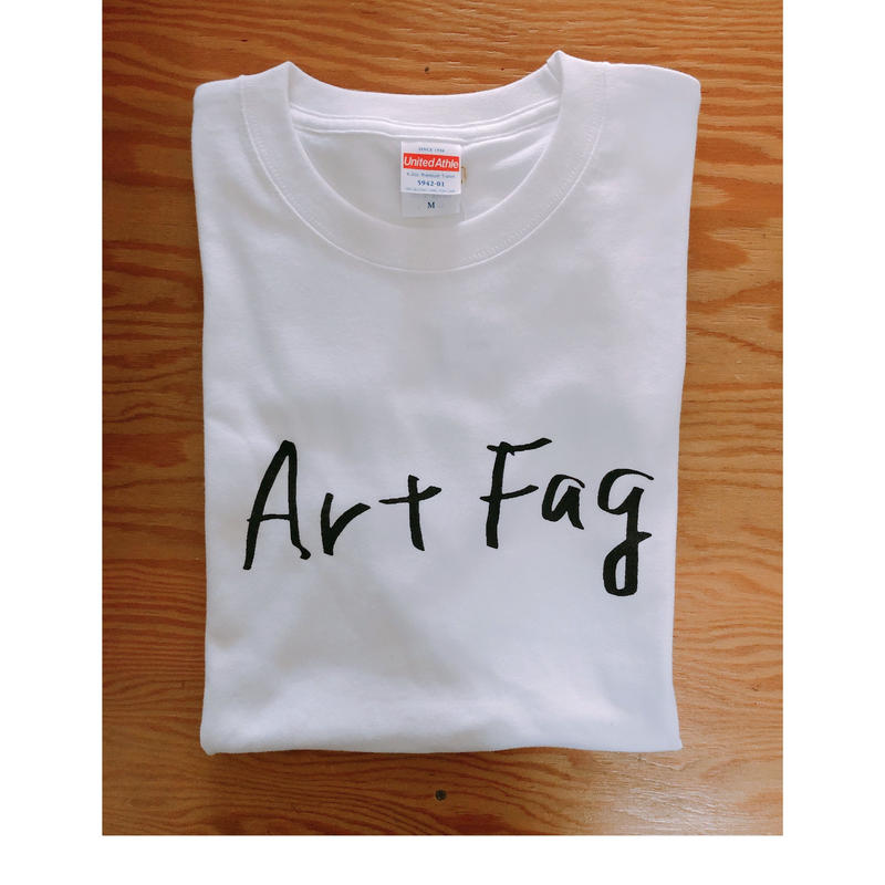 "BOOKNERD ORIGINAL  T-SHIRT   ""Art Fag"""