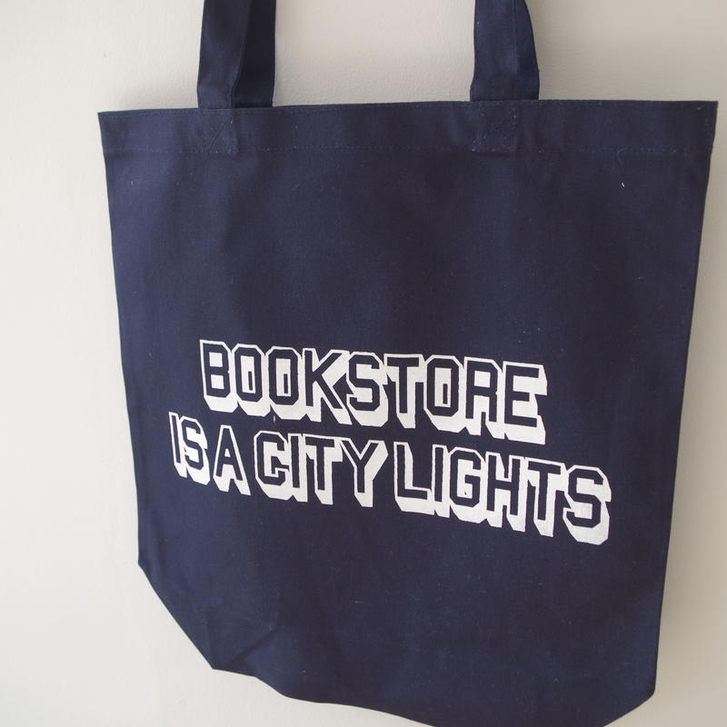BOOKNERD オリジナルトート 『BOOKSTORE IS A CITYLIGHTS』