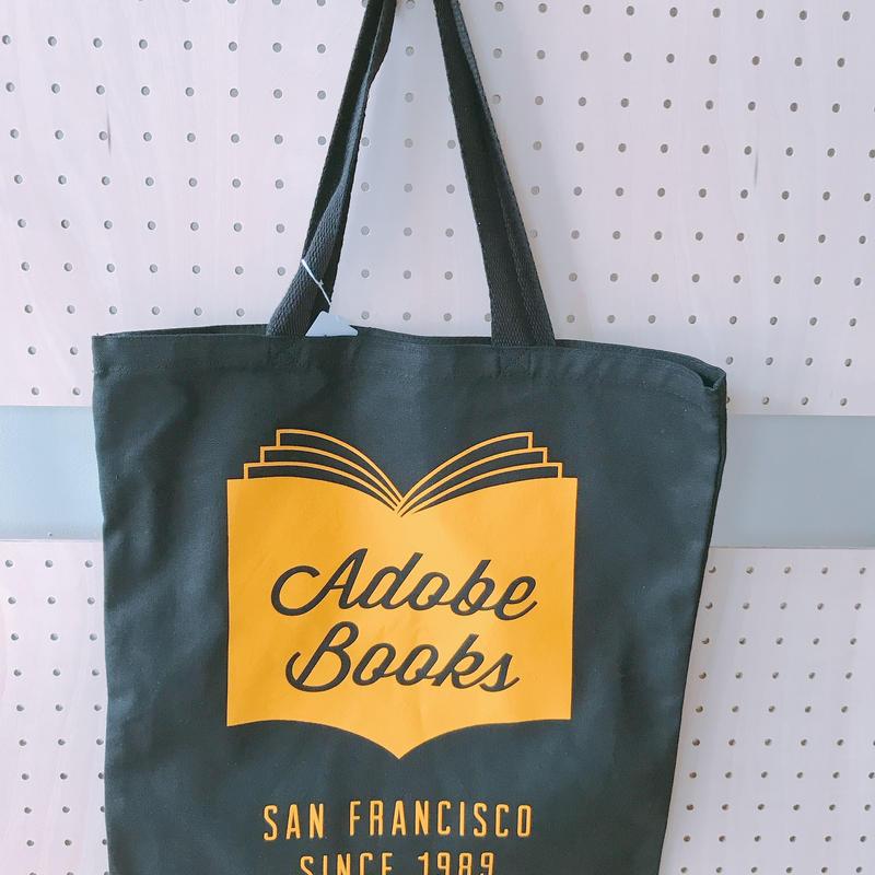 ADOBE BOOKS TOTE BAG *BLACK