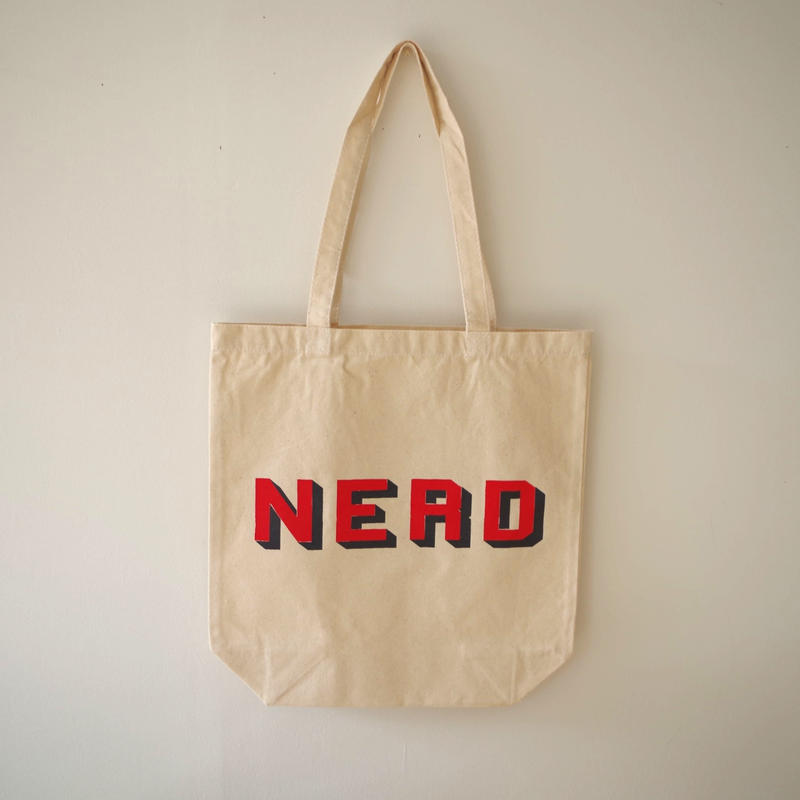 "BOOKNERD ORIGINAL TOTE ""NERD"""