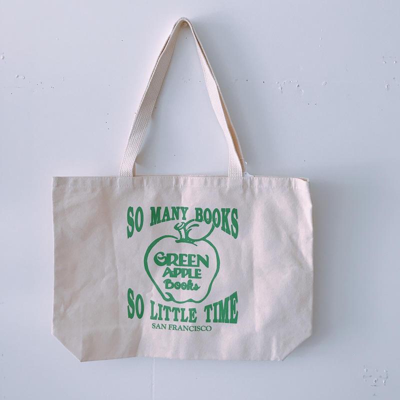 GREEN APPLE BOOKS TOTE BAG
