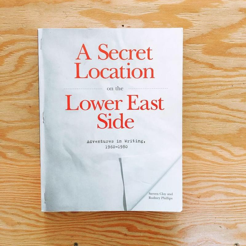 A SECRET LOCATION ON THE LOWER EAST SIDE