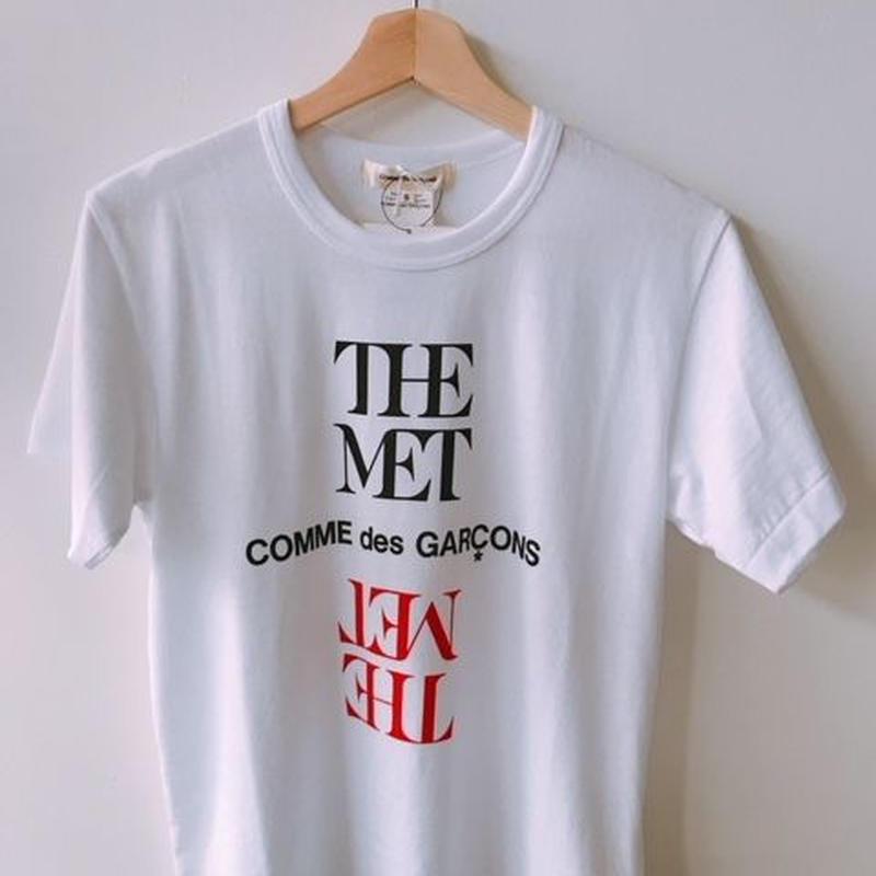 THE MET COMME DES GARCONS T-SHIRT