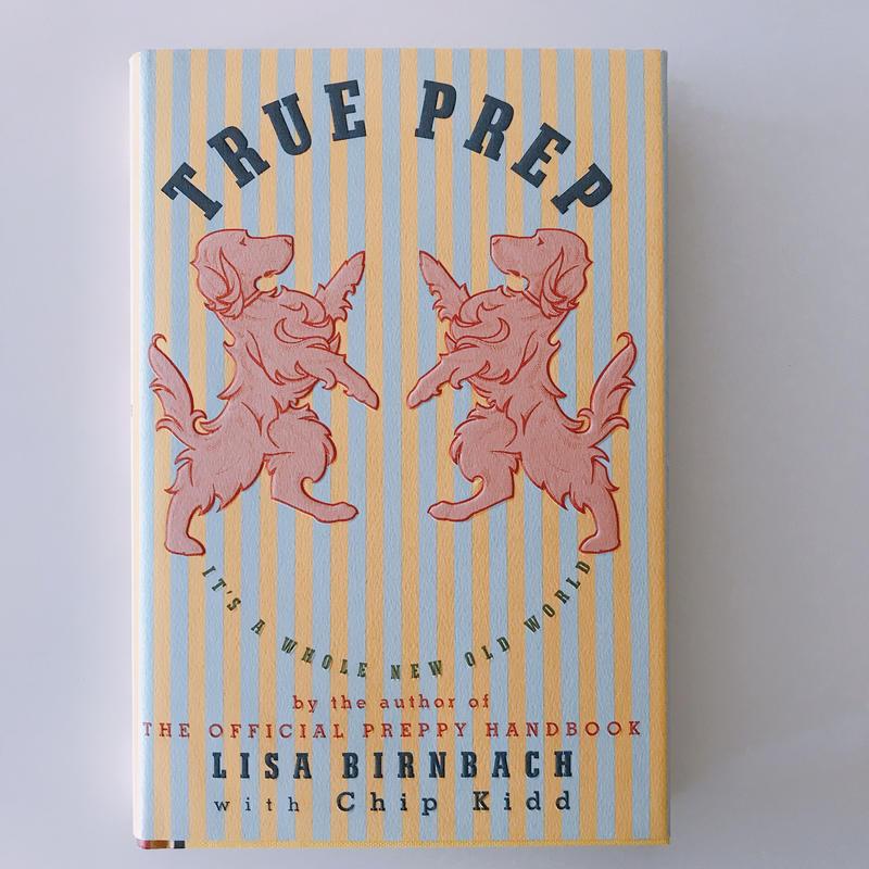 Lisa Birnbach witn Chip  Kidd TRUE PREP