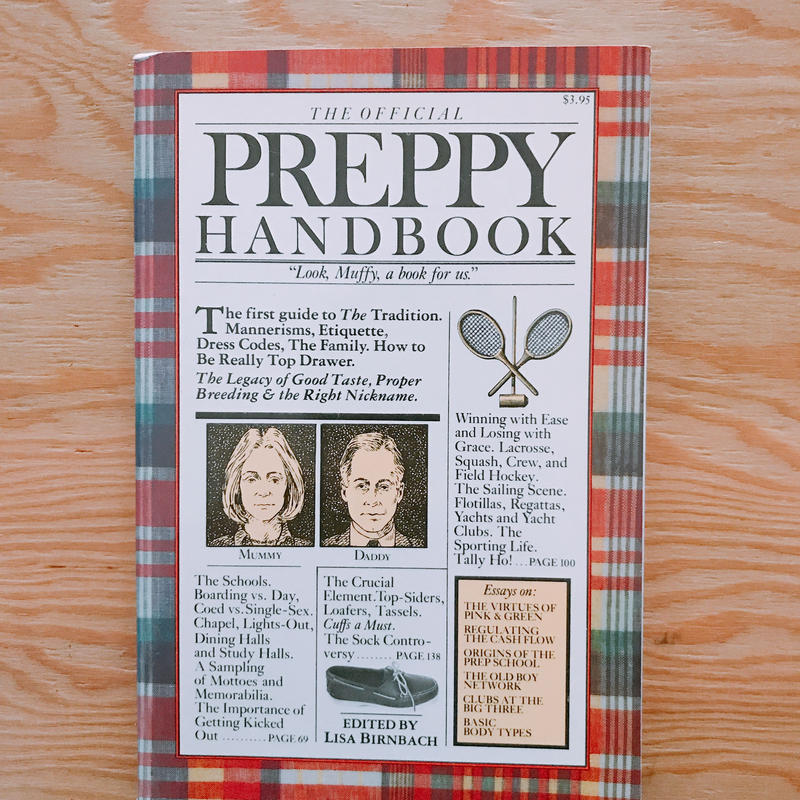 THE OFFICIAL PREPPY HAND BOOK