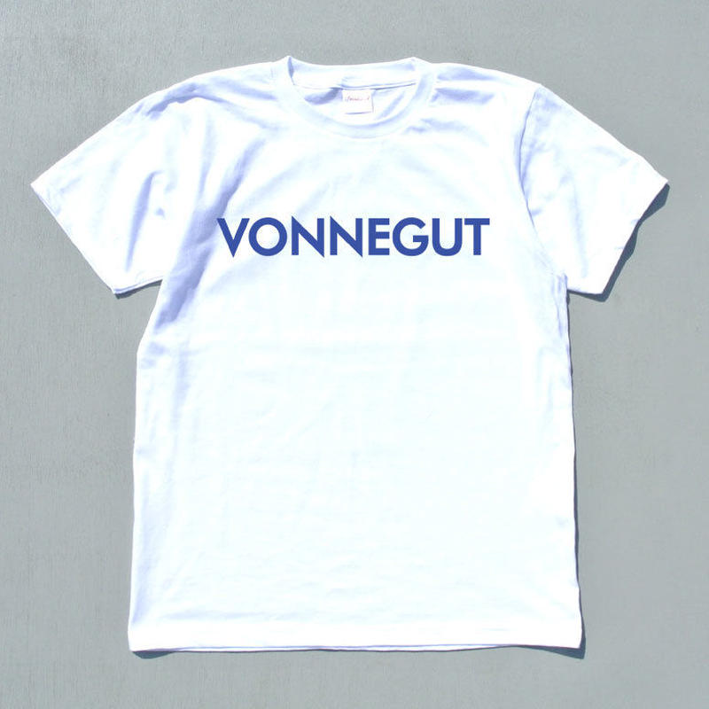 "BOOKNERD ORIGINAL T-SHIRT   AMERICAN WRITERS  ""VONNEGUT"""