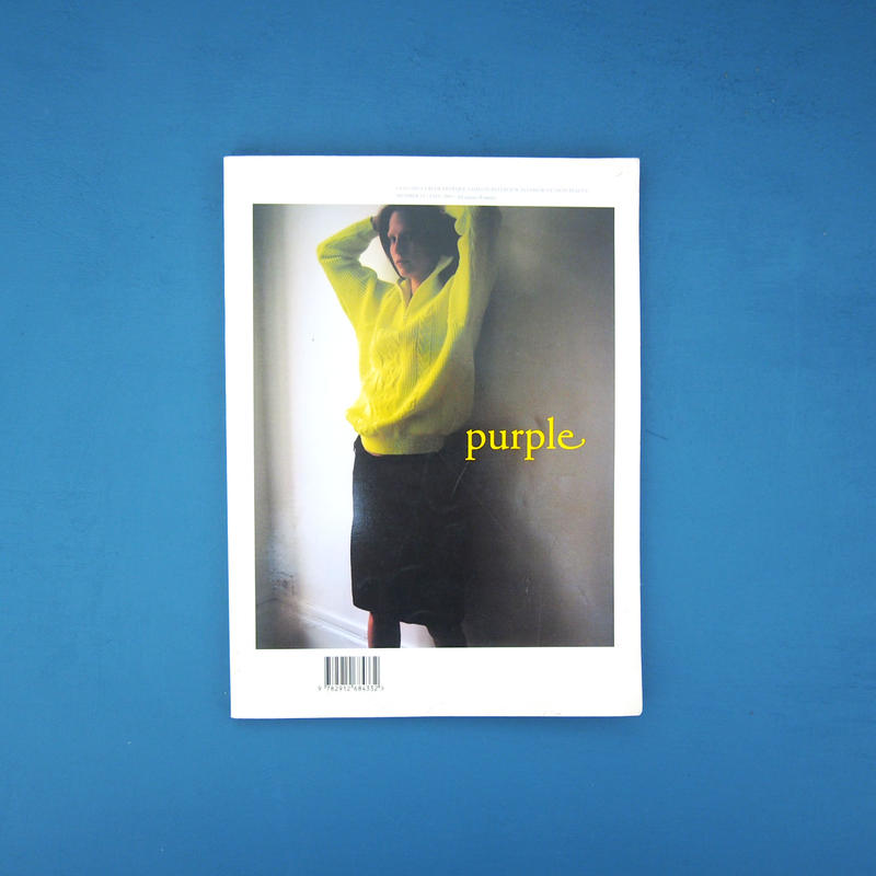 Purple number 13 Fall 2002 / Wolfgang Tillmans,鈴木親,ホンマタカシ