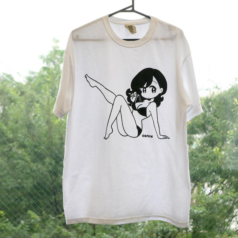 "conix cover girl T-shirt ""Body"""