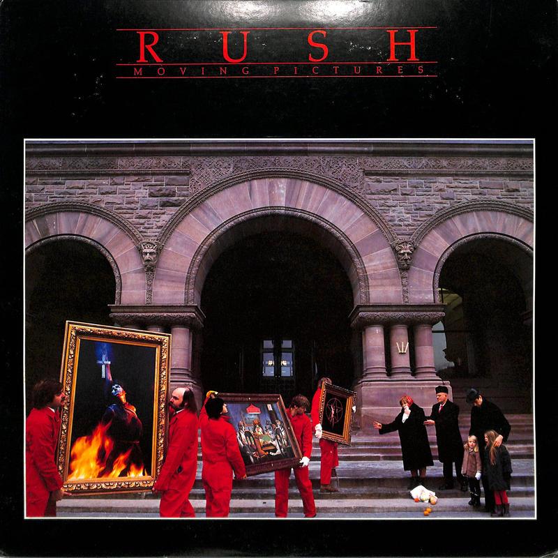 ラッシュ / ムービング・ピクチャーズ(LPレコード)