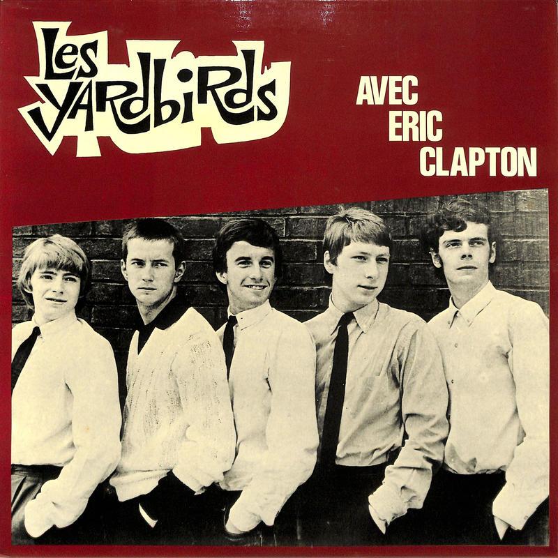 ヤードバーズ / AVEC ERIC CLAPTON(EVAフランス,コンピレーション)(LPレコード)