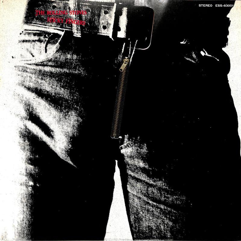 ローリング・ストーンズ / スティッキー・フィンガーズ(LPレコード)