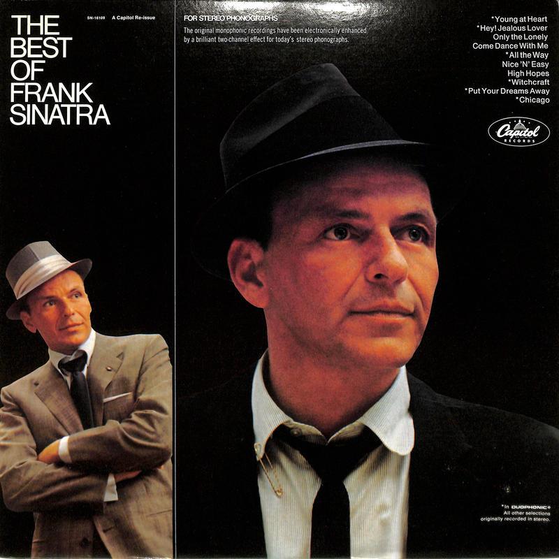 フランク・シナトラ / THE BEST OF FRANK SINATRA(US CAPITOL再発緑ラベル)(LPレコード)