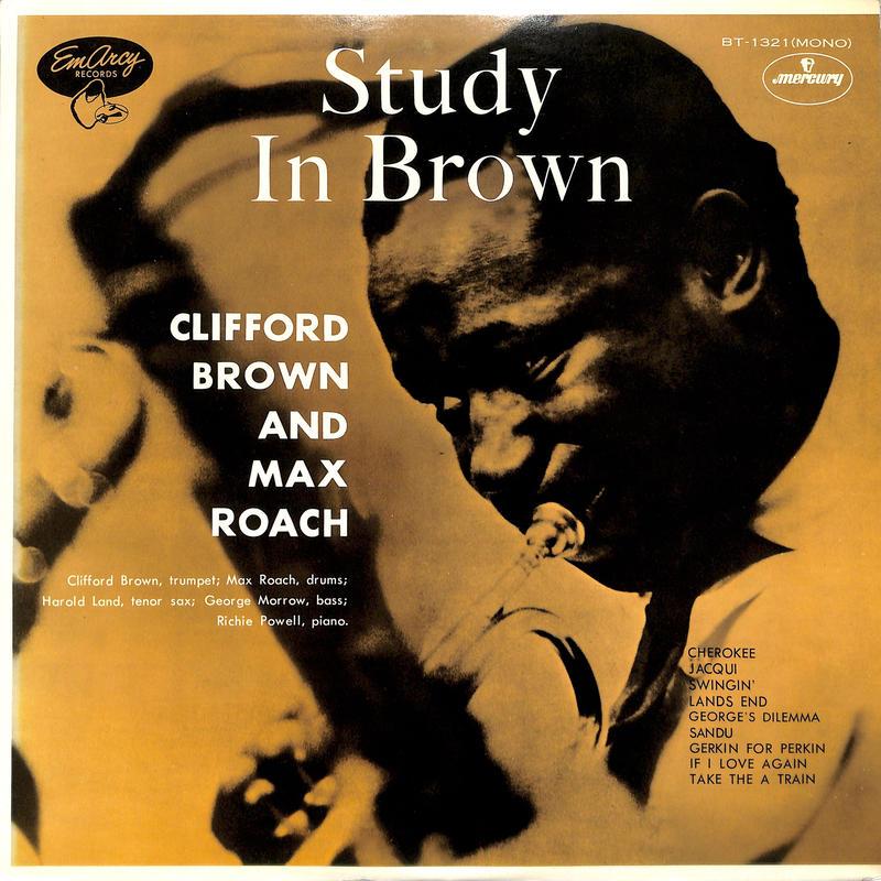 クリフォード・ブラウン Clifford Brown / スタディ・イン・ブラウン(LPレコード)