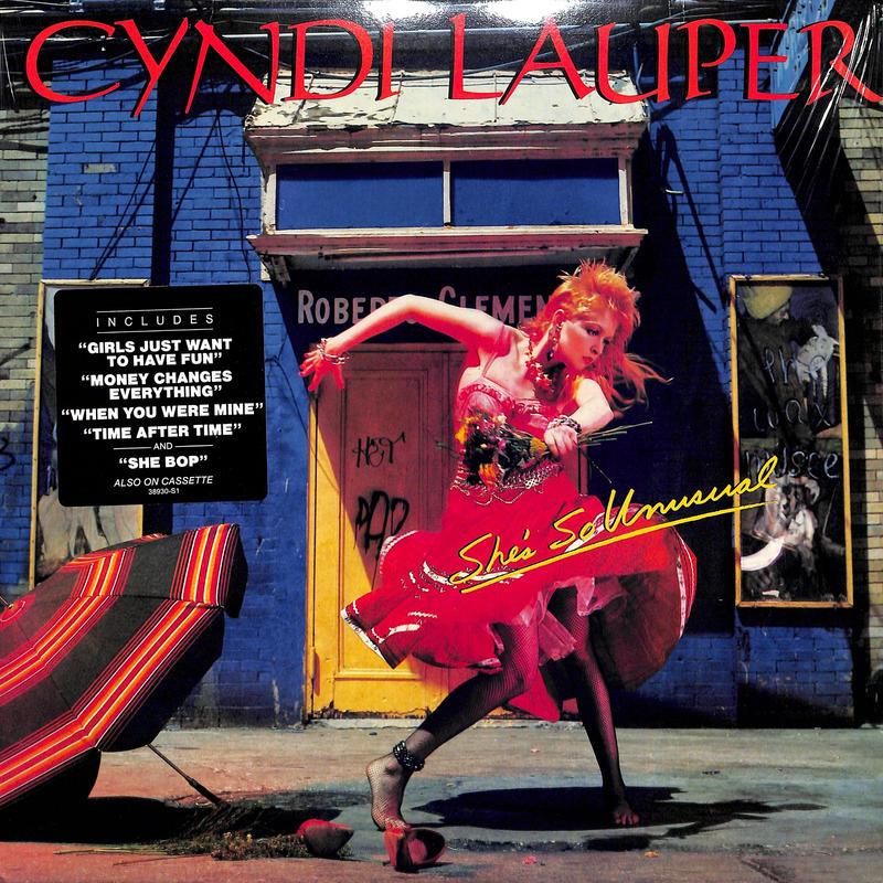 Cyndi Lauper / She's So Unusual