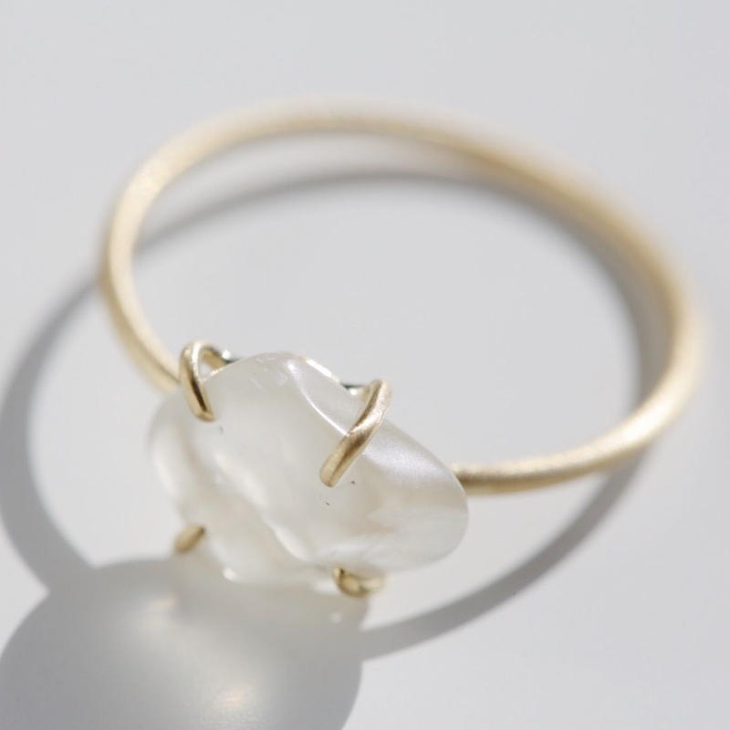 Moonstone Gem Ring